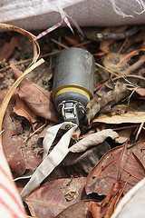 Nicht explodierte Streumunition