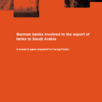 German banks involved in the export of tanks to Saudi Arabia