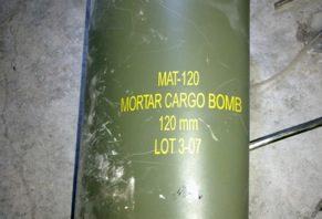 In Misrata / Lybien gefundene Munitionsteile der MAT-120