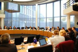 "Round Table ""Investment in Streumunition"", Deutscher Bundestag, 22.9.2011"