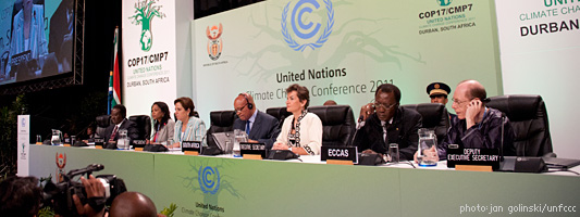 Eröffnung Klimakonferenz in Durban