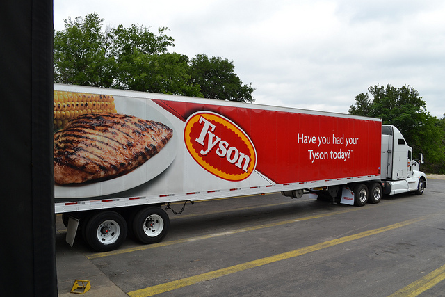 Abbildung 1: Tyson Foods LKW, Capital Area Food Bank of Texas/Flickr