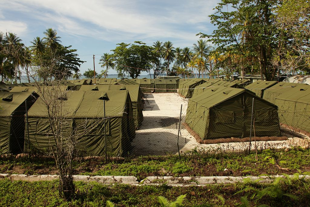 Blick in das Manus Island Detention Centre, Quelle: Wikipedia