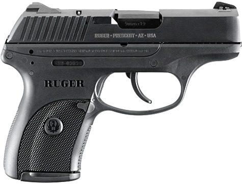 Halbautomatische Pistole produziert von Sturm Ruger |  Bild: © Sturm, Ruger & Co. Firearms [CC BY-SA 3.0]  - Wikimedia