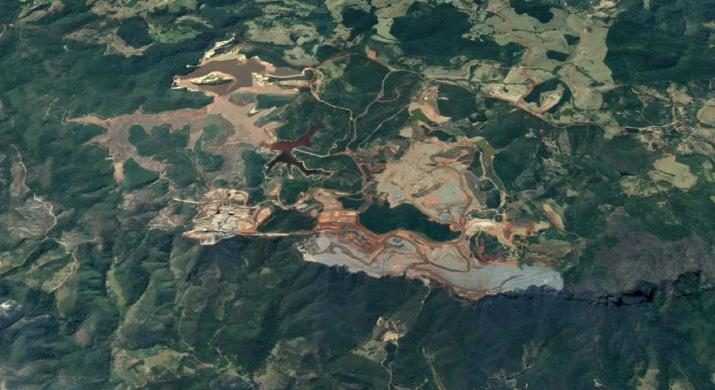 Minas Rio Mine. Google Earth Image.  |  Bild: © Google Earth - Google Earth