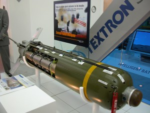 Typs CBU-105 (Sensor Fuzed Weapon) von Textron | Bildtitel muss aus Mediathek zusammengesetzt werden