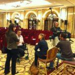 Treffen mit Branislav Kapetanovic auf der 2. Vertragsstaatenkonferenz zum Verbot von Streumunition, Beirut / Lebanon | Bildtitel muss aus Mediathek zusammengesetzt werden